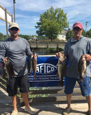 Tournament Results Waccamaw River, SC Danny Allen & Reid McDowell Weigh Up 14.40 lbs! Collect $1,584.00!