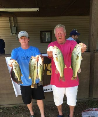 Tournament Results Wateree Open June 15, 2019 Tanner & Alan Fletcher Win With 13.63 lbs! Next Wateree Open June 22 Clearwater Cove Marina!