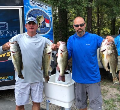 Scott Woodson & Todd Staker Win the 2019 Old North Points! This is Their 1st Time Fishing the CATT Trail!