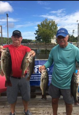 Tournament Results Waccamaw River, SC August 3, 2019 Ed Owens & Chris Jones Win With 16.80 lbs! Britt Brown & Dan Martin Win the Waccamaw River Points!