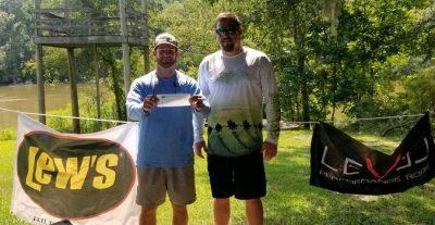 Tournament Results Savannah River, GA Aug 10, 2019 Paul Johnson & Adam Wood Win! 12.60 lbs! Net Savannah River CATT is Sept 22 at Stokes Bluff!