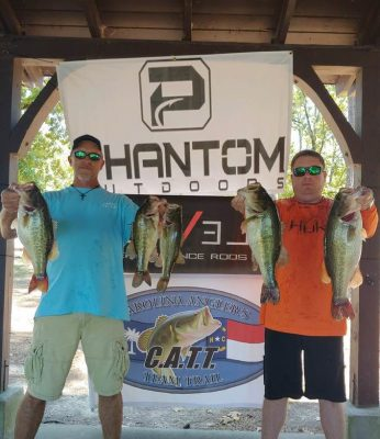 Tournament Results Lake Murray, SC Sept 8, 2019