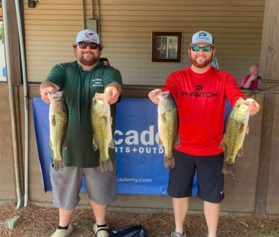 Tournament Results Lake Wateree Open Sept 28, 2019 Michael Richardson & Shane Cantley Win With 15.50 lbs! We have over $3,500.00 In the Wateree Open Final Fund!