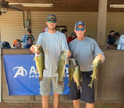 Tournament Results Lake Wateree, SC Sept 28, 2019 Jacob & Jeff Norris Win With 17.45 lbs! Next CATT On Wateree Is Oct 12!