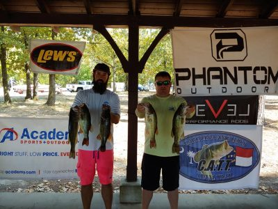 Tournament Results Lake Murray, SC Sept 28, 2019