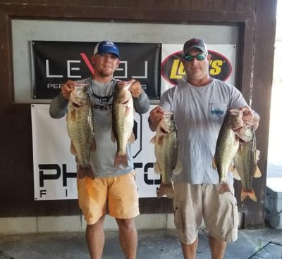 Tournament Results Santee Cooper, SC Sept 28, 2019  Bryan Miller & Don Pendarvis weighed in 5 bass at 21.80 lbs taking 1st place and $830.00!