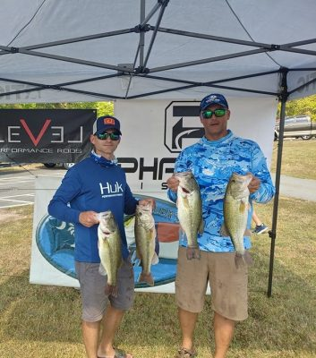 Tournament Results Kerr Lake, VA Sept 29, 2019