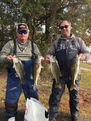 Tournament Results Lake Hartwell, SC Nov 16, 2019