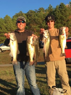 Tournament Results Kerr Lake, VA Nov 10, 2019