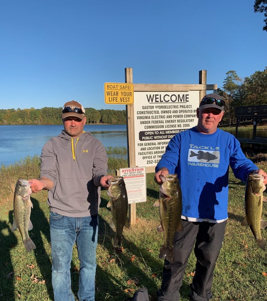 Tournament Results Lake Gaston Final 2-3, 2019