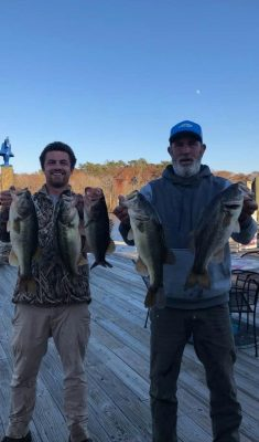 Tournament Results Waccamaw River, SC Fall Final Dec 7, 2019