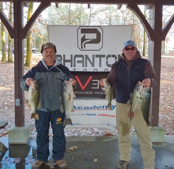 Tournament Results Lake Murray, SC Dec 14, 2019