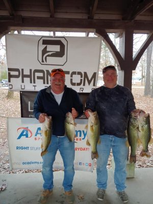 Tournament Results Lake Murray, SC Fall Final Dec 28, 2019