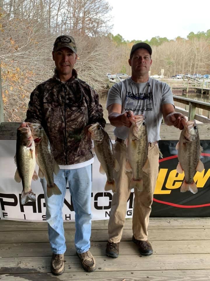 Tournament Results Sparkleberry Swamp Quest Lake Marion, SC  Dec 28, 2019
