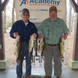 Tournament Results Lake Murray, SC Jan 11, 2020