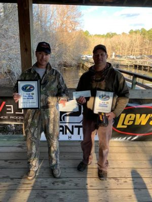 Tournament Results Sparkleberrry Swamp Quest Final Lake Marion, SC Jan 25, 2020