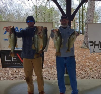 Tournament Results Lake Murray, SC Feb 1, 2020