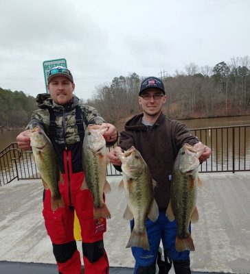 Tournament Results Yadkin Lake Tillery, NC Feb 8, 2020