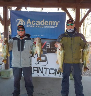 Tournament Results Lake Murray, SC March 7, 2020