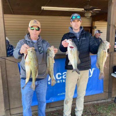 Tournament Results Lake Wateree, SC Mar 7, 2020