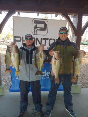 Tournament Results Lake Murray, SC Feb 29, 2020