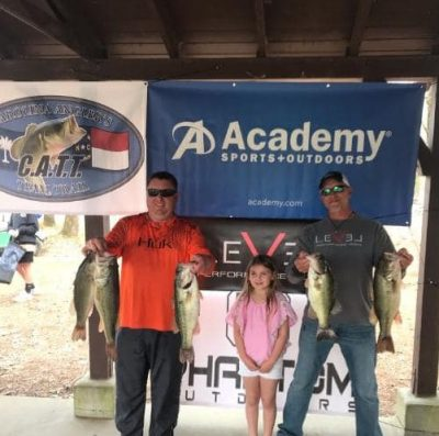 Tournament Results Lake Murray March 14, 2020