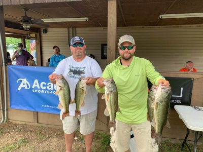 Tournament Results Lake Wateree, SC June 6, 2020