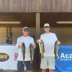 Tournament Results Lake Wateree, SC July 11, 2020