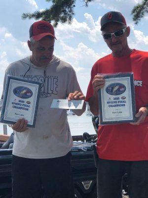 Tournament Results Kerr Lake, VA July 19, 2020 Spring Final