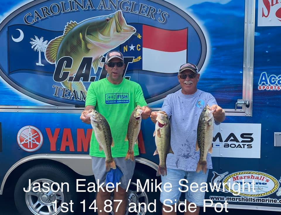 Tournament Results Lake Norman, NC Open Aug 22, 2020