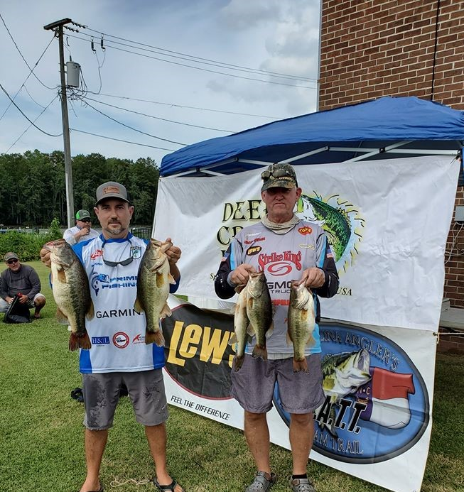 Tournament Results East Roanoke River, NC Aug 22, 2020