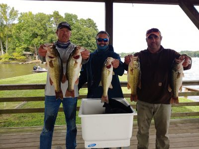 Tournament Results Yadkin High Rock Lake, NC Sept 19, 2020