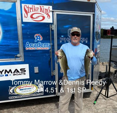 Tournament Results Old North Kerr Lake , NC Sept 19, 2020