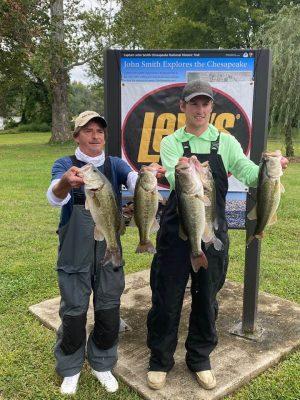 Tournament Results James River, VA Sept 26, 2020