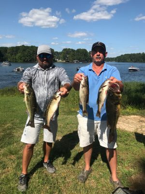 Tournament Results Lake Gaston, NC Sept 6, 2020
