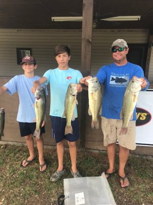 Tournament Results Lake Wateree, SC Sept 12, 2020
