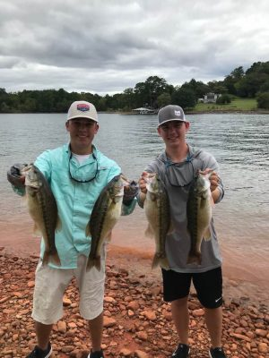 Tournament Results Chatuge Lake, NC Sept 26, 2020