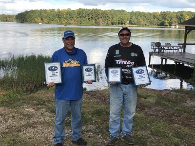 Tournament Results Lake Gaston, NC Oct. 18, 2020