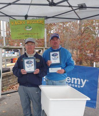 Tournament Results Yadkin Fall Final High Rock Lake, NC Nov 22, 2020