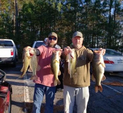 Tournament Results Lake Hartwell Dec 5, 2020