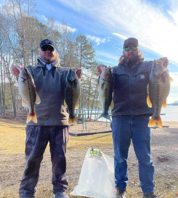 Tournament Results Lake Keowee, SC Jan 10, 2021