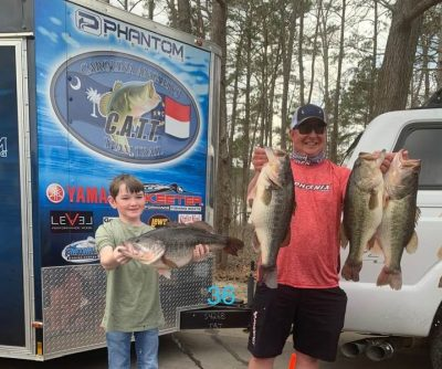 Tournament Results Old North Jordan Lake, NC March 13, 2021
