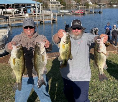 Tournament Results Smith Mtn Lake, VA March 20, 2021 WOW!!