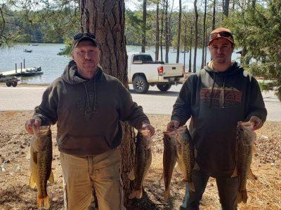 Tournament Results Lake Monticello, SC March 20, 2021
