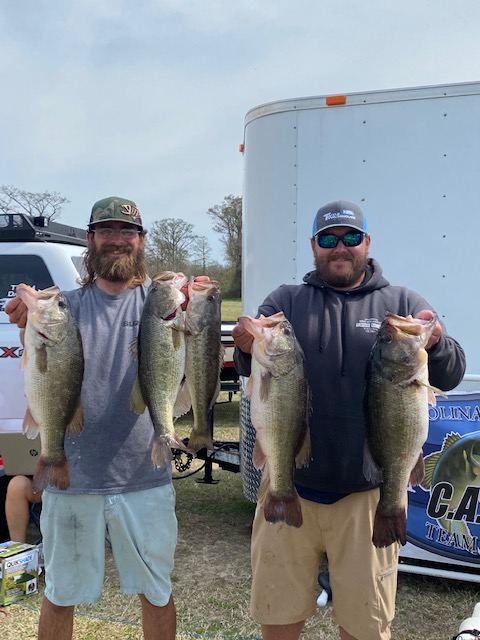 Tournament Results Tidewater Perquimans River, NC March 28, 2021