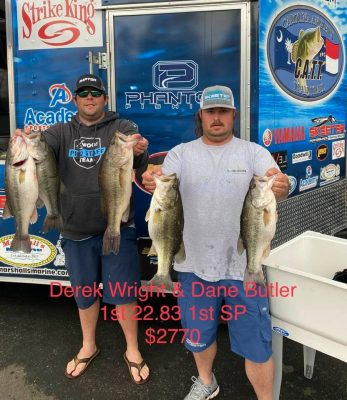 Tournament Results Old North Falls Lake, NC March 27, 2021