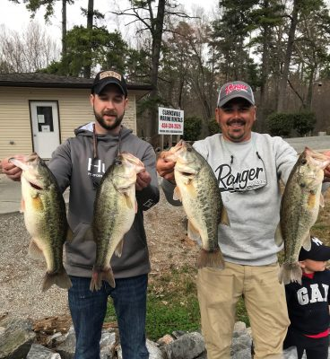 Tournament Results Kerr Lake, VA March 14, 2021