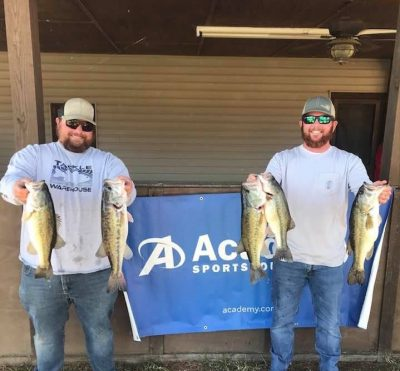 Tournament Results Lake Wateree, SC April 3, 2021