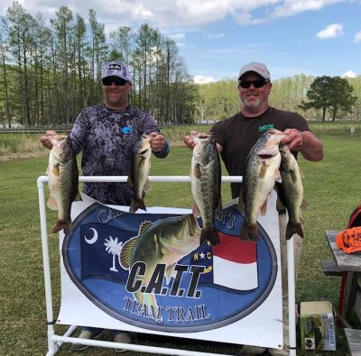 Tournament Results Tidewater Chowan River, NC April 11, 2021