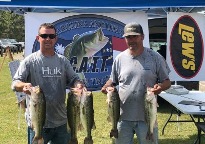 Tournament Results Old North Kerr Lake, NC April 10, 2021
